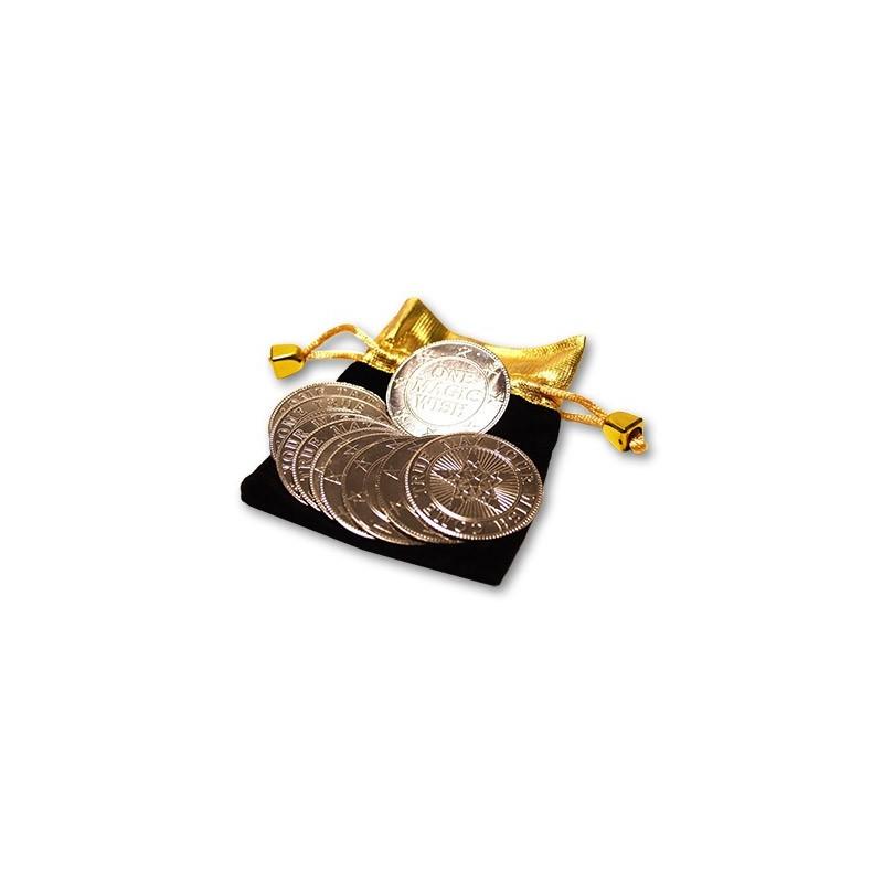 Magic Wishing Coins (10) by Alan Wong - Trick wwww.magiedirecte.com