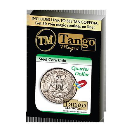 STEEL CORE COIN (US Quarter Dollar) - Tango wwww.magiedirecte.com