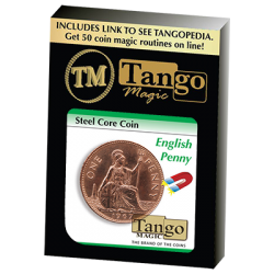 STEEL CORE COIN ENGLISH (Penny) - Tango wwww.magiedirecte.com