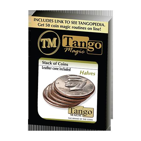 STACK OF COINS HALVES - Tango wwww.magiedirecte.com