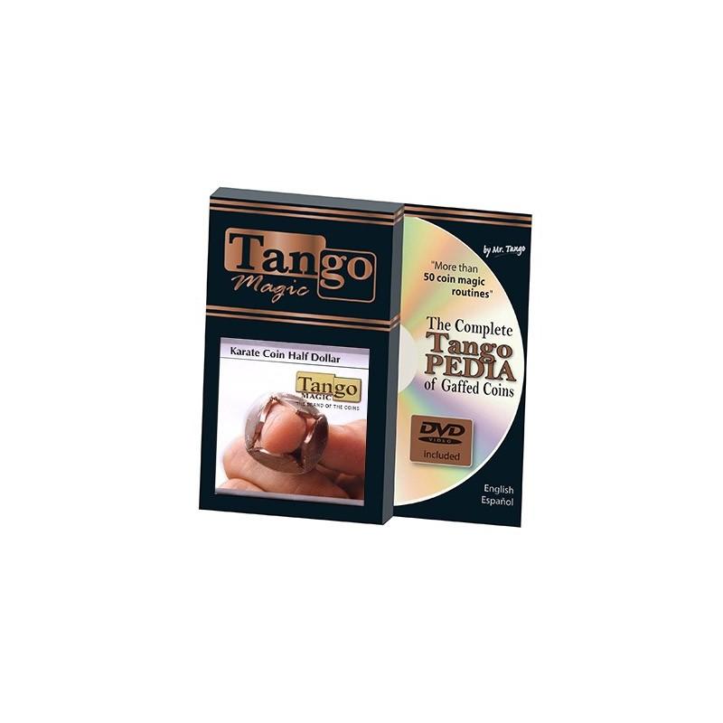 Karate Coin US Half Dollar (w/DVD) (D0072) by Tango - Trick wwww.magiedirecte.com
