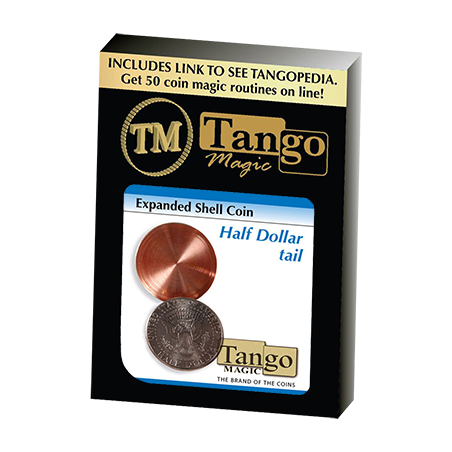 EXPANDED SHELL COIN (Half Dollar Tail) - Tango wwww.magiedirecte.com