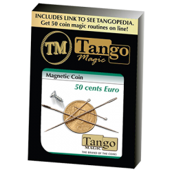 MAGNETIC COIN (50 cent Euro) - Tango wwww.magiedirecte.com