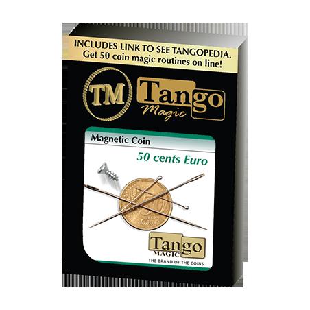 MAGNETIC COIN (50 cent Euro) - Tango wwww.magiedirecte.com