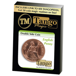 Double Side Coin English Penny (D0037) by Tango-Trick wwww.magiedirecte.com