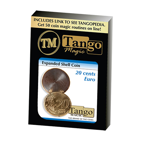 EXPANDED SHELL COIN (20 Cent Euro) - Tango wwww.magiedirecte.com