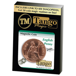 MAGNETIC COIN (English Penny) - Tango wwww.magiedirecte.com