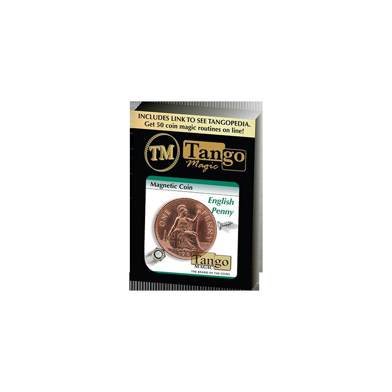 MAGNETIC COIN (English Penny) - Tango wwww.magiedirecte.com
