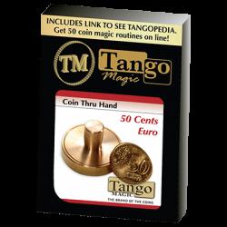 50 CENTS EURO THRU HAND - Tango wwww.magiedirecte.com