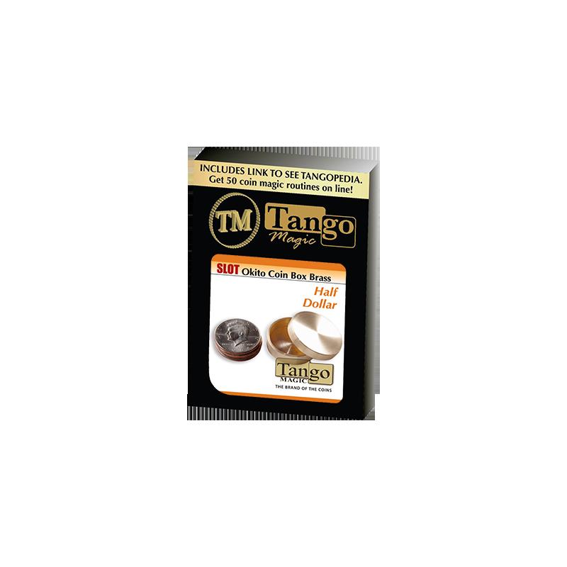 SLOT OKITO COIN BOX BRASS (Half Dollar) - Tango wwww.magiedirecte.com