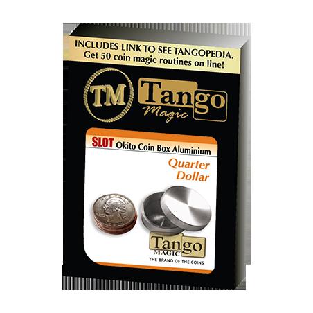 SLOT OKITO COIN BOX (Quarter) Aluminium - Tango wwww.magiedirecte.com