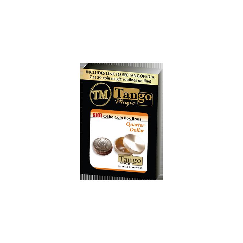 SLOT OKITO COIN BOX BRASS (Quarter) - Tango wwww.magiedirecte.com