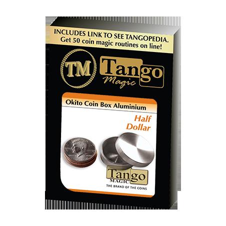 OKITO COIN BOX - Aluminum (Half Dollar) - Tango wwww.magiedirecte.com