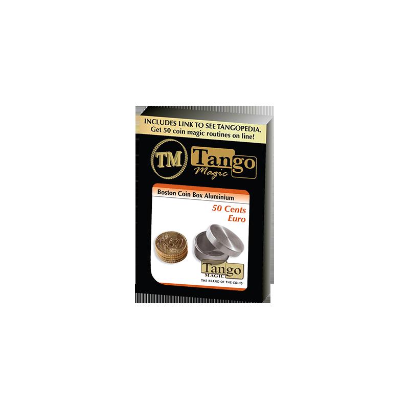 BOSTON COIN BOX Aluminum (50 cent Euro) - Tango wwww.magiedirecte.com