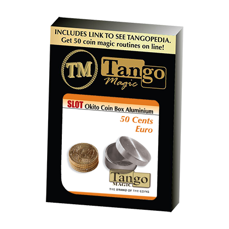 SLOT OKITO BOX (50 cent Euro) Aluminium - Tango wwww.magiedirecte.com