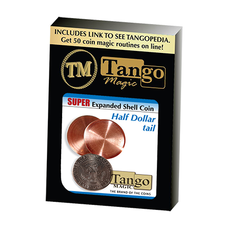 SUPER EXPANDED SHELL (Half Dollar Tail) -  Tango wwww.magiedirecte.com