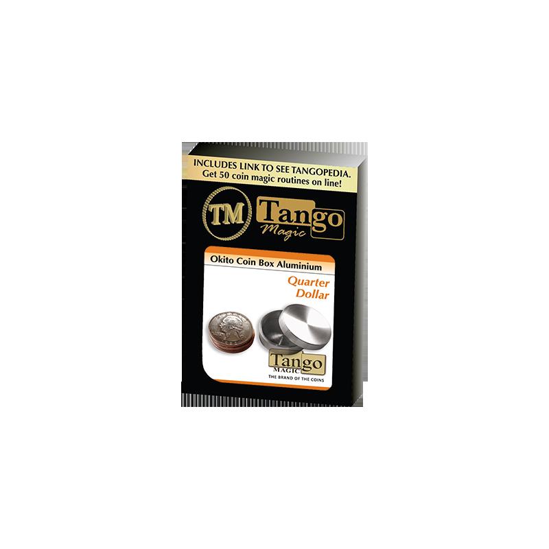 OKITO COIN BOX Aluminum (Quarter) - Tango wwww.magiedirecte.com