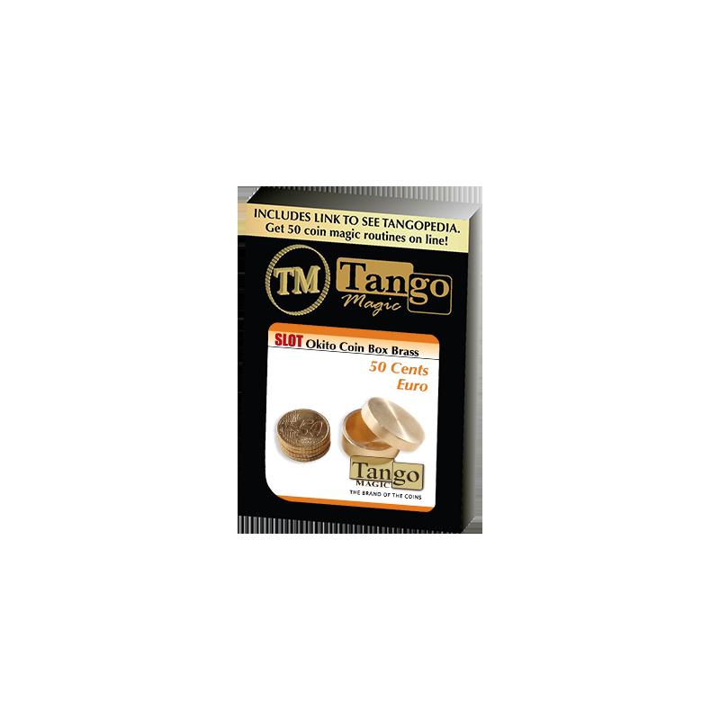 SLOT OKITO COIN BOX BRASS (50 cent Euro) - Tango wwww.magiedirecte.com