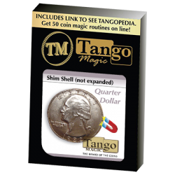 Shim Shell Quarter Dollar by Tango - Trick (D0084) wwww.magiedirecte.com