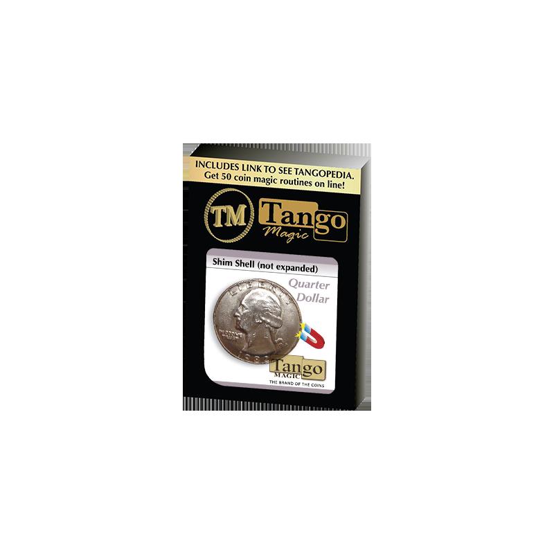 Shim Shell Quarter Dollar by Tango - Trick (D0084) wwww.magiedirecte.com