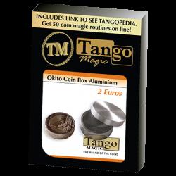 OKITO COIN BOX  Aluminum (2 Euro) - Tango wwww.magiedirecte.com
