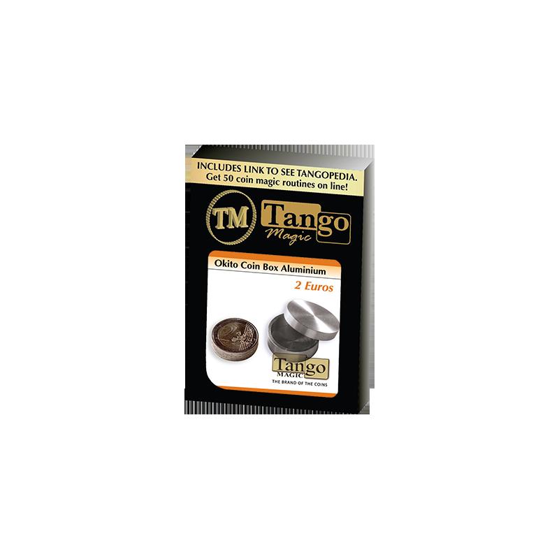 OKITO COIN BOX - Aluminum (2 Euro) - Tango wwww.magiedirecte.com