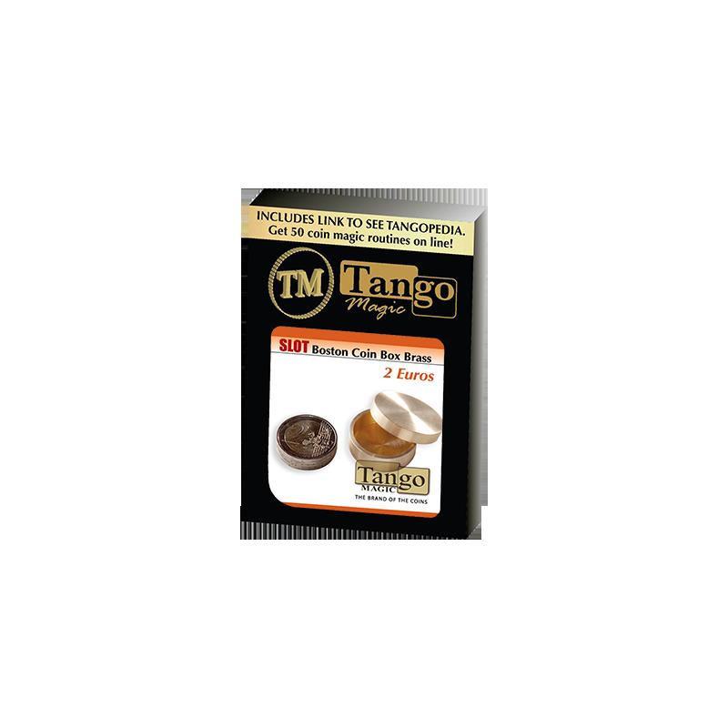 SOLT BOSTON BOX BRASS (2 Euro) - Tango wwww.magiedirecte.com