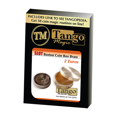 SOLT BOSTON BOX BRASS (2 Euro) - Tango wwww.magiedirecte.com