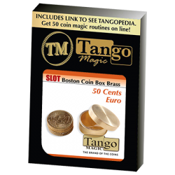 SLOT BOSTON BOX BRASS (50 cent Euro) - Tango wwww.magiedirecte.com