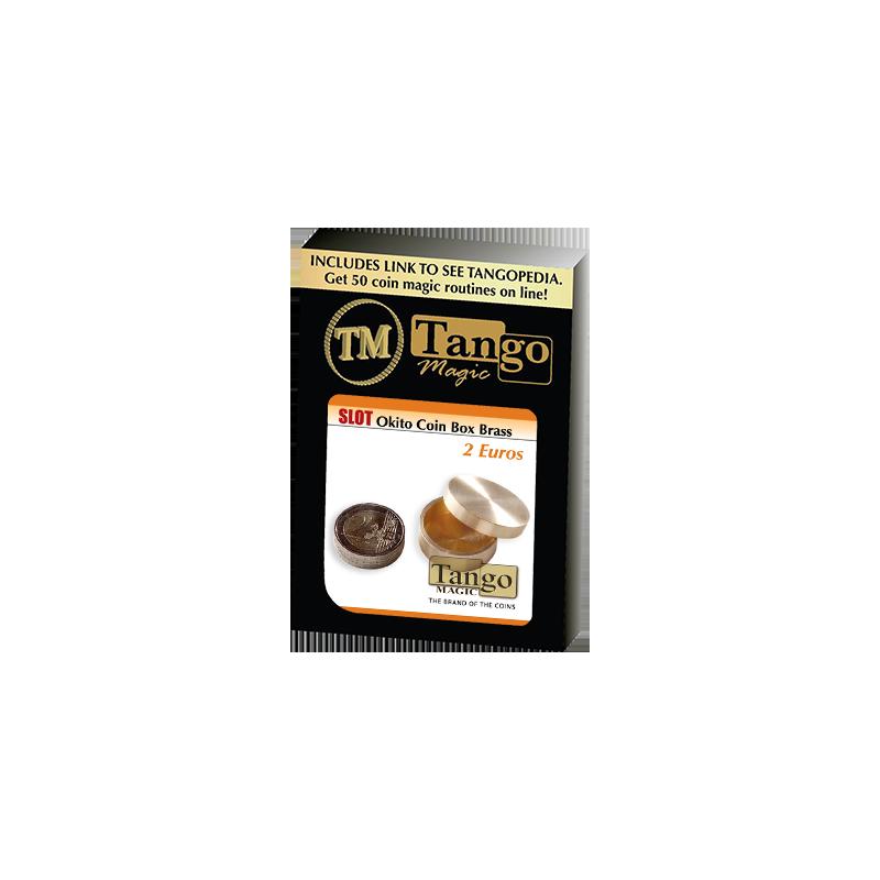 SLOT OKITO COIN BOX Brass (2 Euro) - Tango wwww.magiedirecte.com
