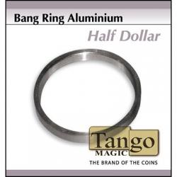 Bang Ring Half Dollar Aluminum (A0009)by Tango wwww.magiedirecte.com
