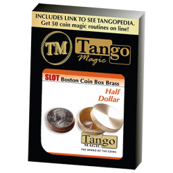 SLOT BOSTON BOX BRASS (Half Dollar) - Tango wwww.magiedirecte.com