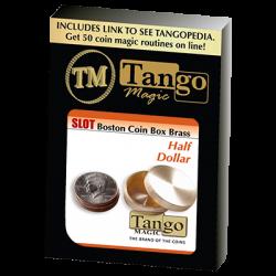 SLOT BOSTON BOX BRASS (Half Dollar) - Tango wwww.magiedirecte.com