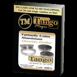FANTASIC COINS  ALUMINUM Quarter  (Made with Real Coins) - Tango wwww.magiedirecte.com