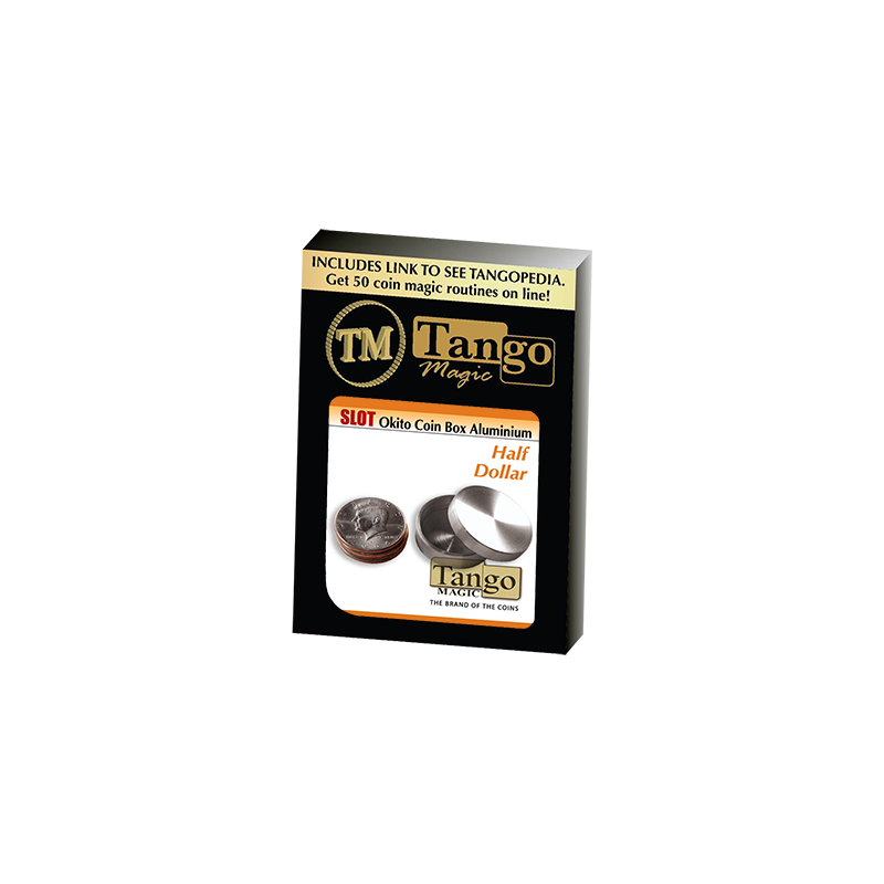 SLOT OKITO BOX Aluminium (Half Dollar) - Tango wwww.magiedirecte.com