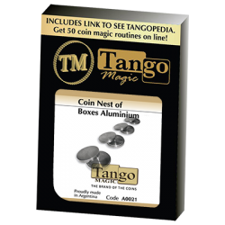 COIN NEST OF BOXES (Aluminum) - Tango wwww.magiedirecte.com