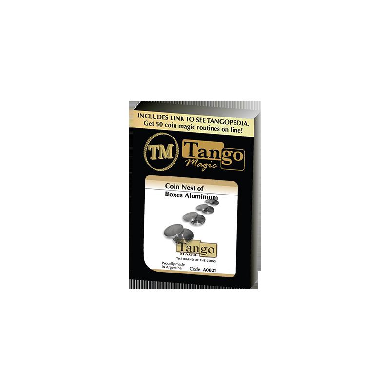 COIN NEST OF BOXES (Aluminum) - Tango wwww.magiedirecte.com
