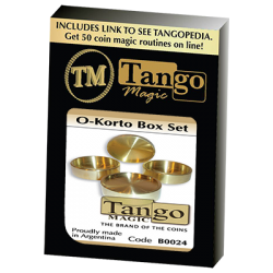 O-Korto Box Set by Tango - Trick (B0024) wwww.magiedirecte.com