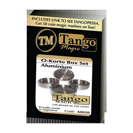 O-Korto Box Set Aluminum by Tango - Trick (A0020) wwww.magiedirecte.com