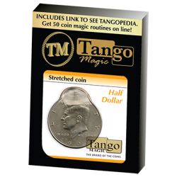 STRETCHED COIN (Half Dollar) - Tango wwww.magiedirecte.com