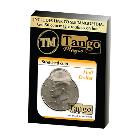 Stretched Coin - Half Dollar by Tango - Trick (D0096) wwww.magiedirecte.com