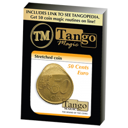 Stretched Coin 50 cents Euro by Tango - Trick (E0074) wwww.magiedirecte.com