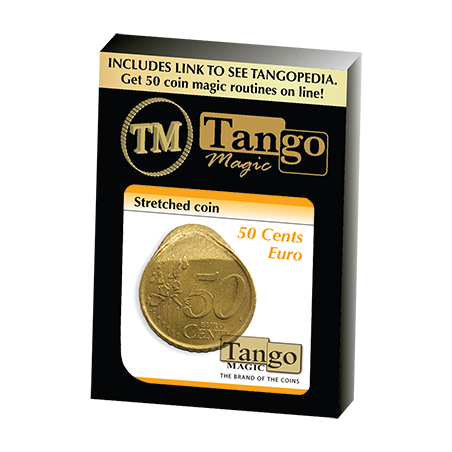 STRETCHED COIN (50 cents Euro) - Tango wwww.magiedirecte.com