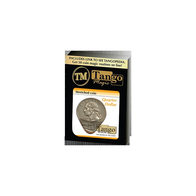 STRETCHED COIN (Quarter Dollar) - Tango wwww.magiedirecte.com
