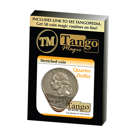 Stretched Coin Quarter Dollar by Tango- (D0095) wwww.magiedirecte.com
