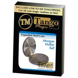 EXPANDED SHELL COIN - MORGAN DOLLAR (Tail) - Tango wwww.magiedirecte.com