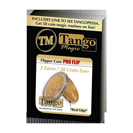 Flipper Coin Pro 2 Euro/50 cent Euro by Tango -Trick (E0079) wwww.magiedirecte.com