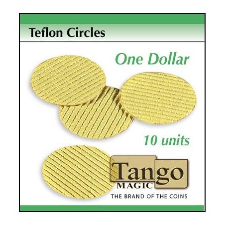 TEFLON CIRCLES DOLLAR (10 unités) - Tango wwww.magiedirecte.com