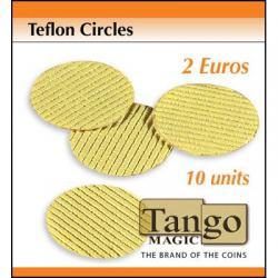 Teflon Circle 2 Euro size (10 units w/DVD) by Tango - Trick (T003) wwww.magiedirecte.com