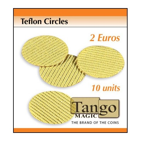 TEFLON CIRCLE 2 EURO  (10 unités) - Tango wwww.magiedirecte.com